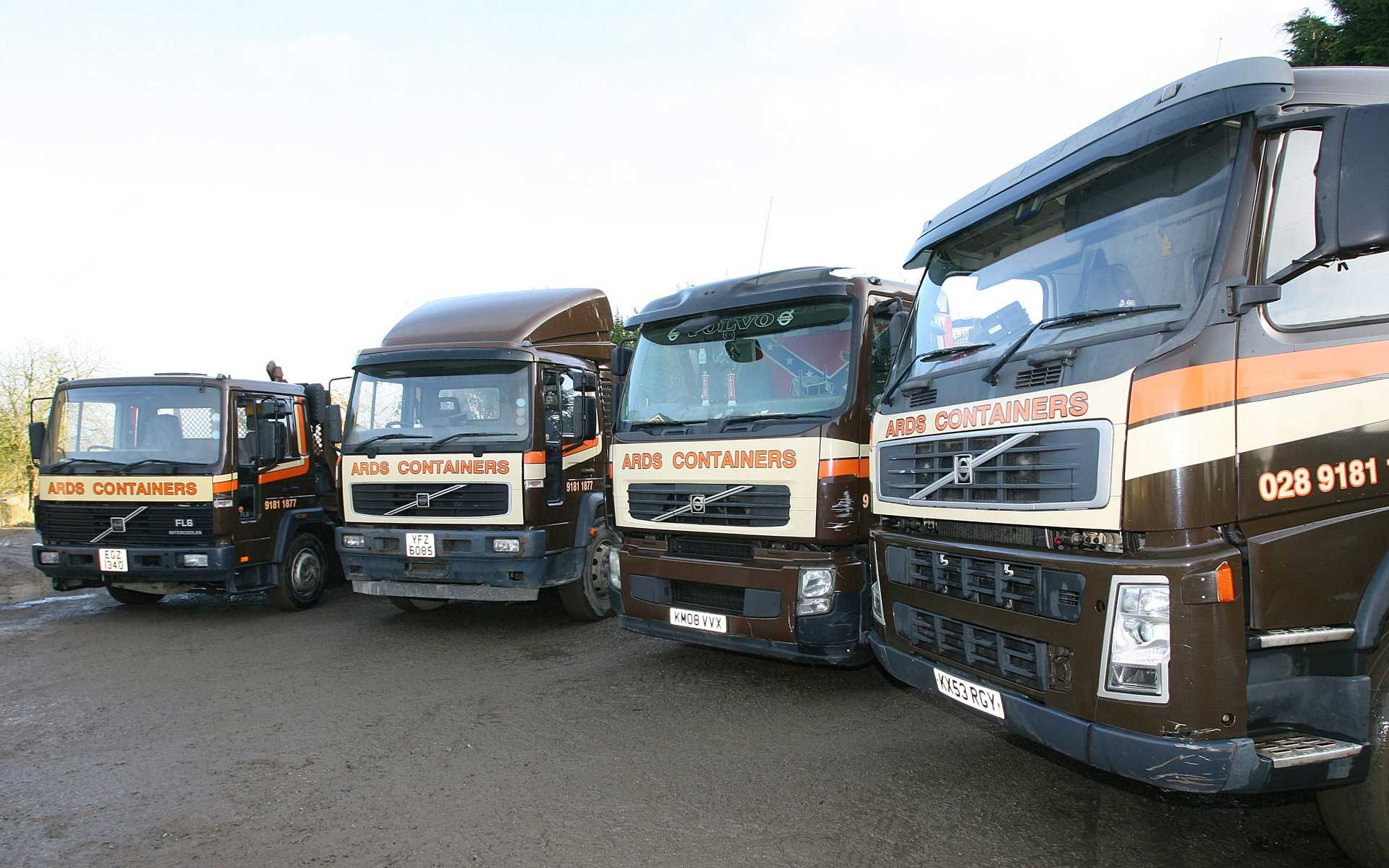 Ards containers trucks